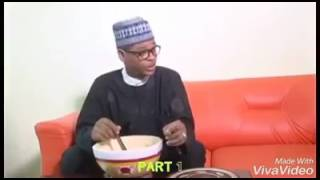 Best President Buhari impression ever by comedian Mc Tagway.