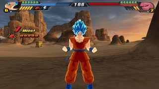 Baixar - Goku Blue Super Saiyan God From Resurrection F Dragon Ball Z Budokai Tenkaichi 3 Mod Grátis