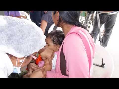 Jornada de Vacunación contra Sarampión  Rubeola y Fiebre Amarilla