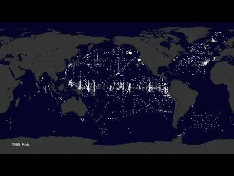 Garbage Patch Visualization Experiment, 2015 NASA's Scientific Visualization Studio