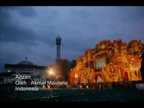 Adzan subuh Akmal maulana