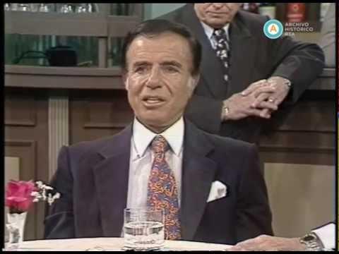 """""""Polémica en el bar"""": Menem en final de campaña, 1995"""