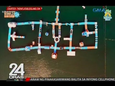 24 Oras: Inflatable island, bagong atraksyon sa Olongapo City