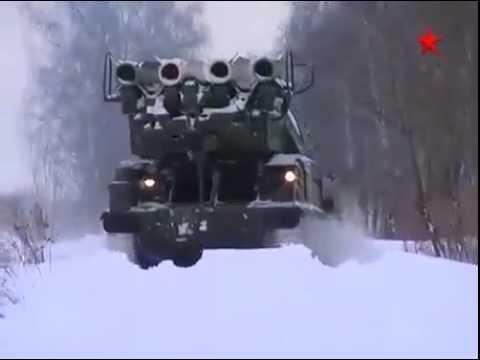 БУК-М2 в действии, Buk-M2 SAM In Action