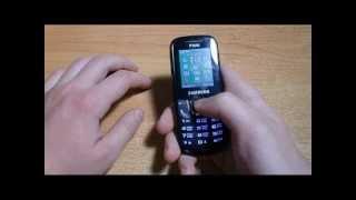 Samsung E1282T Обзор и Распаковка(В этом видео представлена распаковка и короткий обзор двухсимного телефона Samsung E1282T. Понравилось: MicoUSB..., 2013-05-26T18:33:45.000Z)