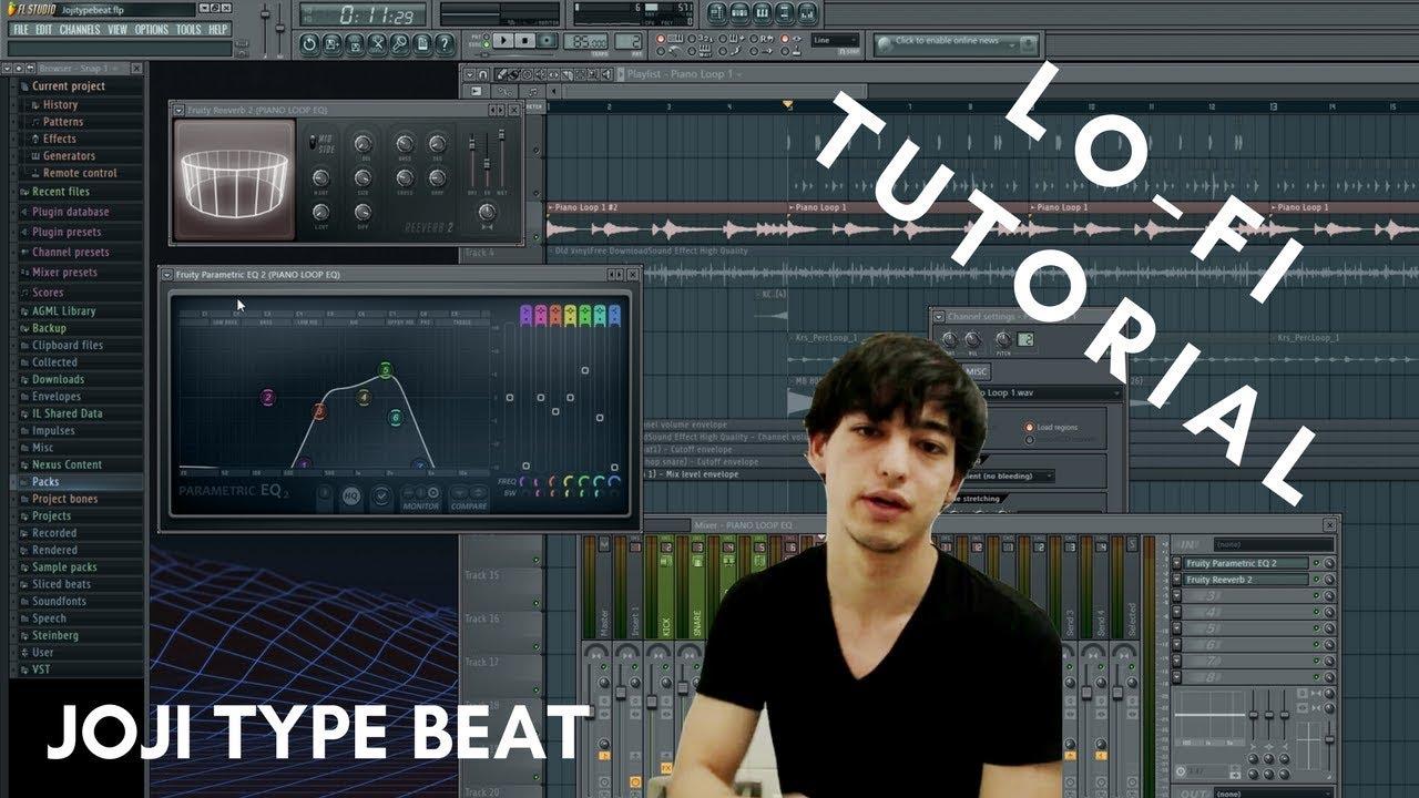 How to make a Joji type beat in FL Studio (EASY LO-FI BEAT TUTORIAL)