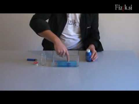 Air pressure - physics experiment