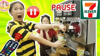 pause-challenge-สเลอปี้หก-เกือบโดนไล่ออกจากร้านเซเว่น-รีโมทหยุดเวลา-e-p-3ตอง-ติง-โชว์