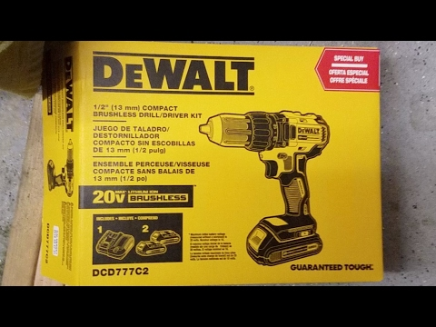 DeWalt 1/2 Inch Brushless Drill/Driver (DCD777C2) and other Babble