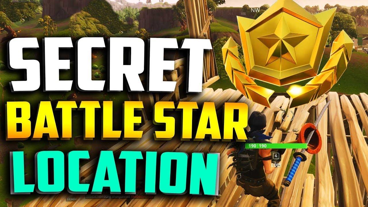 Week 5 Secret Battle Star Location In Fortnite Fortnite Week 5