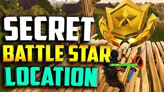 WEEK 5 SECRET BATTLE STAR LOCATION in FORTNITE - FORTNITE WEEK 5 BLOCKBUSTER BATTLE STAR LOCATION