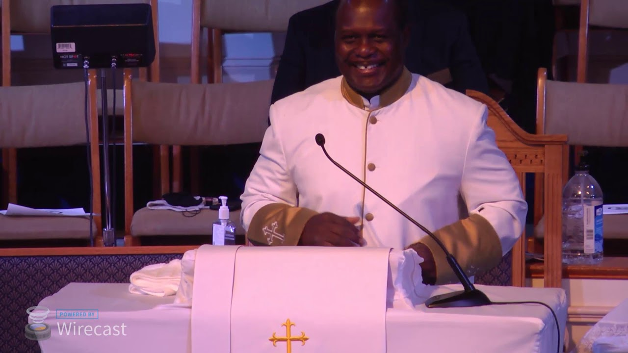 "Sunday Worship: ""Up For The Challenge""   Rev. Vandy C. Simmons"