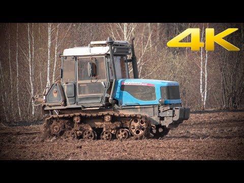 Гусеничный трактор АГРОМАШ 90ТГ - лучше старого ДТ-75? Состояние спустя 7 лет эксплуатации