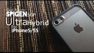 SPIGEN SGP Ultra Hybrid iPhone 5/5S Case Review - Indonesia