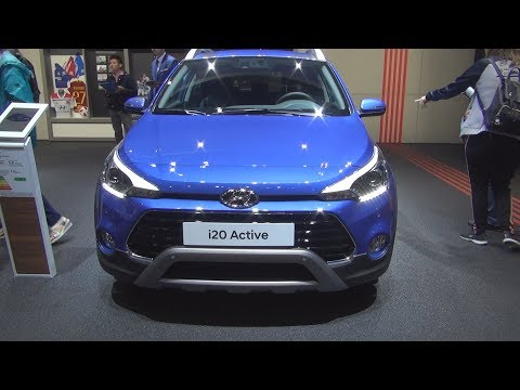 Hyundai i20 Active 1.0 T-GDi 100 5MT (2019) Exterior and Interior