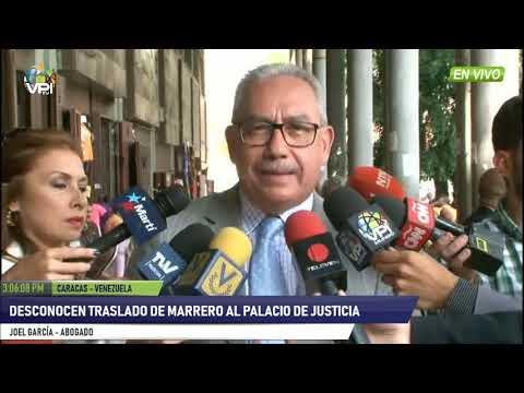 Venezuela -  Desconocen traslado de Marrero al Palacio de Justicia- VPItv