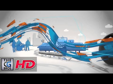 """CGI 3D MoGraph Spot : """"Sony Music Unlimited"""" by - FRAME"""