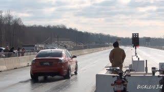 Procharged Pontiac G8 GT Chasing 10s