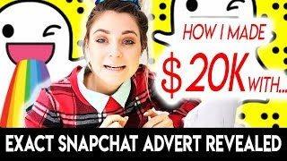 HOW I MADE $20,000 FROM SNAPCHAT ADS & WHY YOU'RE GETTING DISAPPROVED