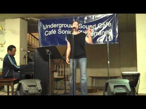 Jessica Ford (underground sound cafe) You're beautiful