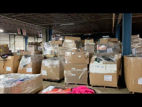 How To Purchase Amazon Customer Returns Liquidation Pallets +  Liquidation Warehouse Tour