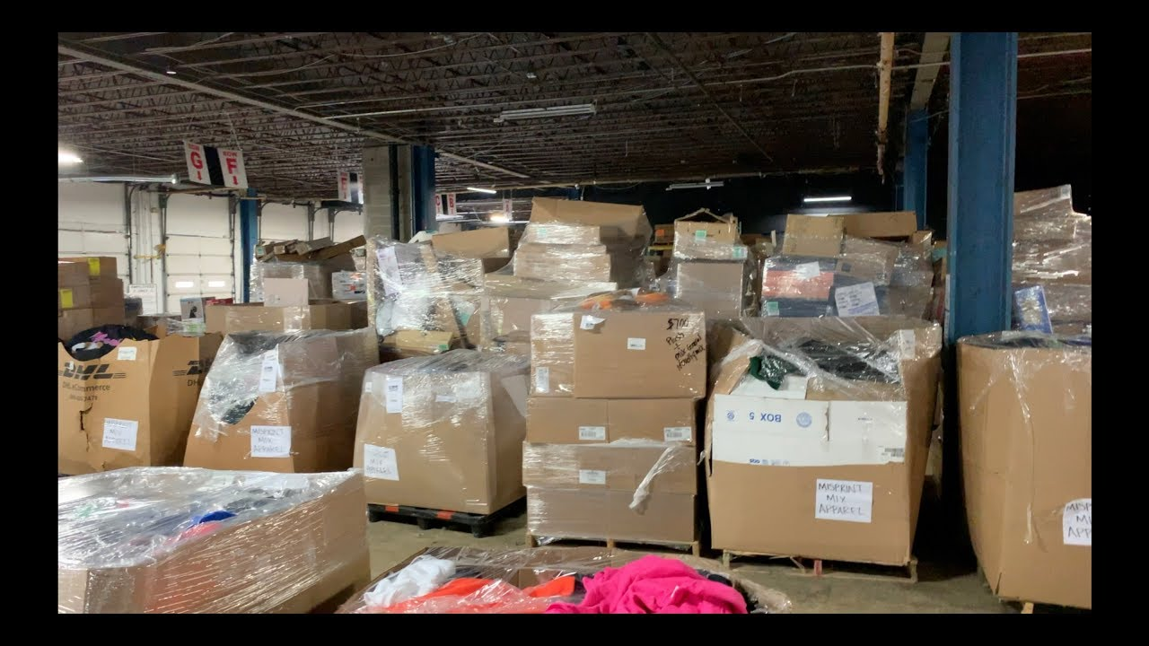How To Purchase Amazon Customer Returns Liquidation Pallets + LIVE  Liquidation Warehouse Tour