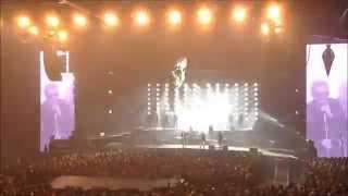 RESTER VIVANT (avec intro du spectacle JOHNNY HALLYDAY ZENITH DIJON 311015) ! by Jmd...!