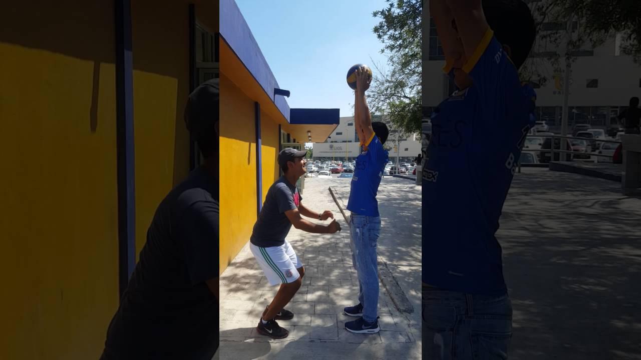 ejercicios para practicar bloqueo en voleibol
