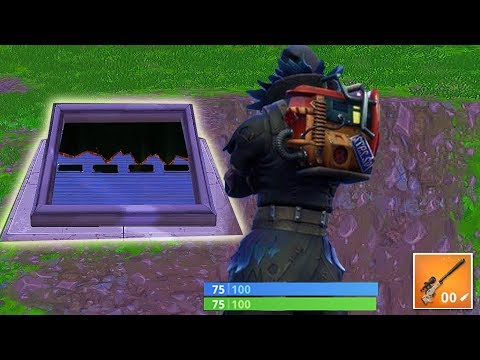 De bunker van Slender openen (Fortnite: Battle Royale)