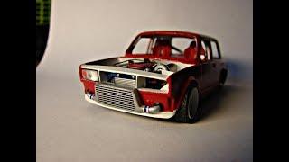 VAZ 2105 DRIFT(Ваз 2105 Дрифт)Тюнинг от и до! Модели Kaito#3!