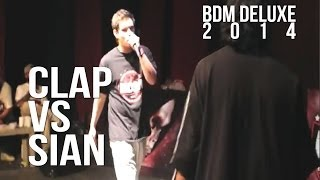 BDM Deluxe 2014 / 3er Lugar / Sian vs Clap