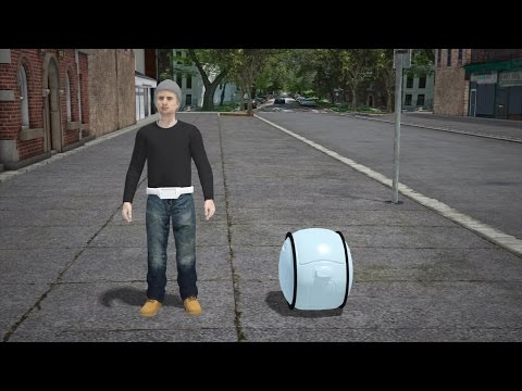 Vespa designs cargo robot that can follow you around