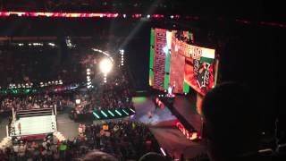 WWE Monday Night Raw - John Cena Intro - First Niagara Center - 9/28/15 - Buffalo