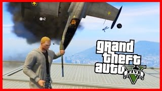 JETS VS RPG! - GTA V INSANE GAMEMODE! (GTA 5 FUNNY MOMENTS)