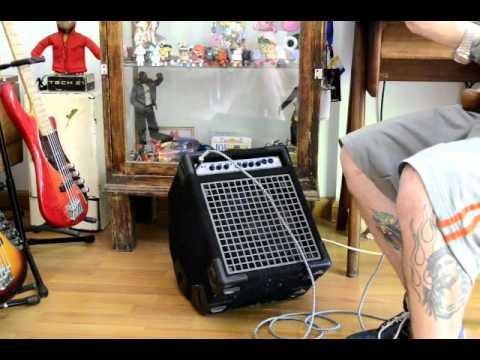 gallien krueger backline 110 youtube. Black Bedroom Furniture Sets. Home Design Ideas