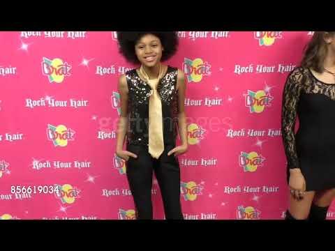 Briana Roy at the Rock Your Hair