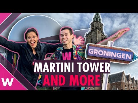 Groningen travel guide: Martini Tower, street art, bars (Part I) | Eurovision 2020 travel 🇳🇱