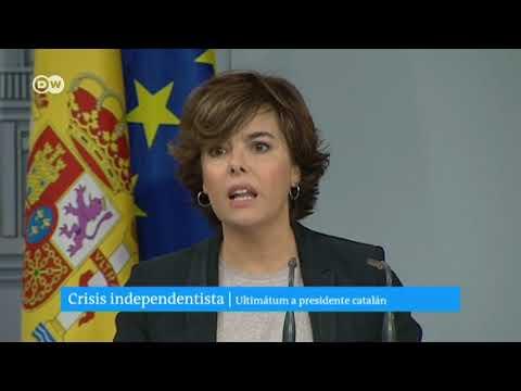 Crisis independentista en España