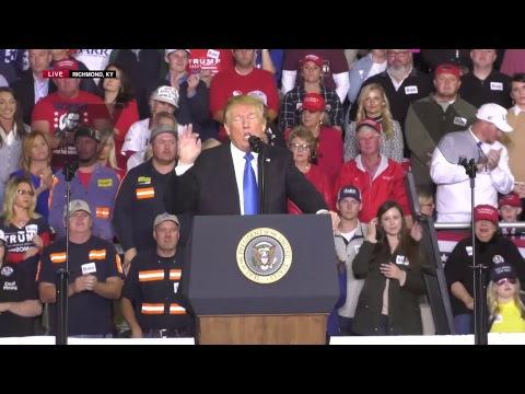 LIVE: President Trump in Richmond, KY