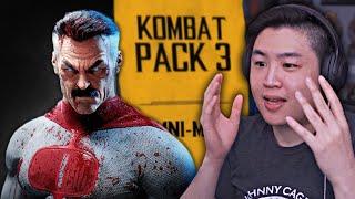 KOMBAT PACK 3 только что получил подтверждение или отказ от подтверждения ?!