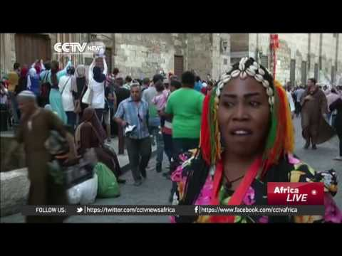 Celebrating Chinese and African culture on the streets of Cairo