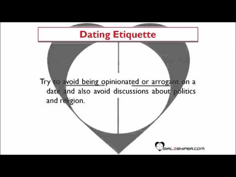 Dating Tips For Men   Dating Etiquette