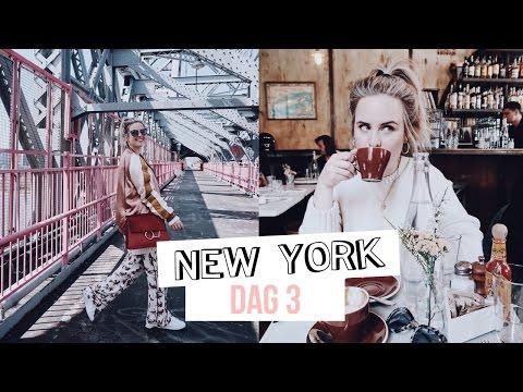 TRAVEL VLOG / NYC dag 3, leukste hotspots in Williamsburg! | Billie Rose