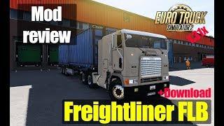 ETS2  MODS Freightliner FLB Обзор Модов Euro Truck Simulator 2