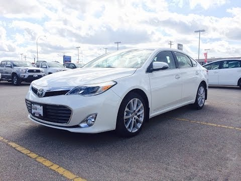 2014 Toyota Avalon Limited Review, Start up and Walkaround