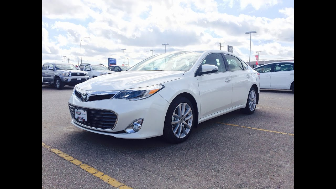 2014 Toyota Avalon Limited Review Start Up And Walkaround