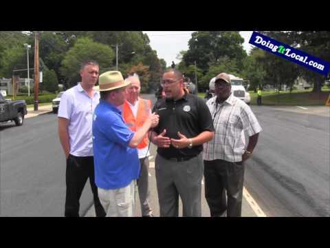 Bridgeport's New Paving System