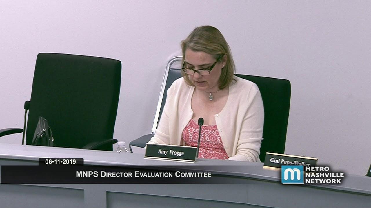 06/11/19 MNPS Director Evaluation Committee