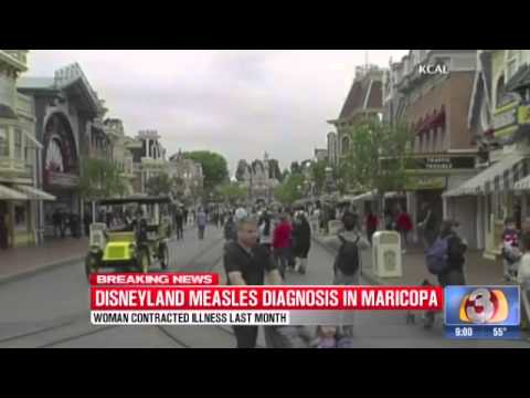Maricopa County woman tests positive for measles after Disneyland visit