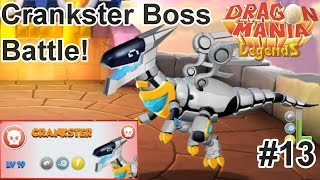 Crankster Boss Battle! - Dragon Mania Legends PC Walkthrough Part 13